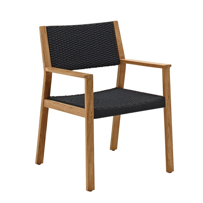 Dimensions  sc 1 st  Gloster Furniture & Gloster - Maze Dining Chair with Arms