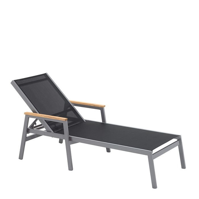 Gloster - Luna Lounger with Arms