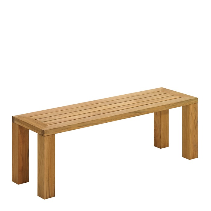 Gloster - Square Small Backless Bench