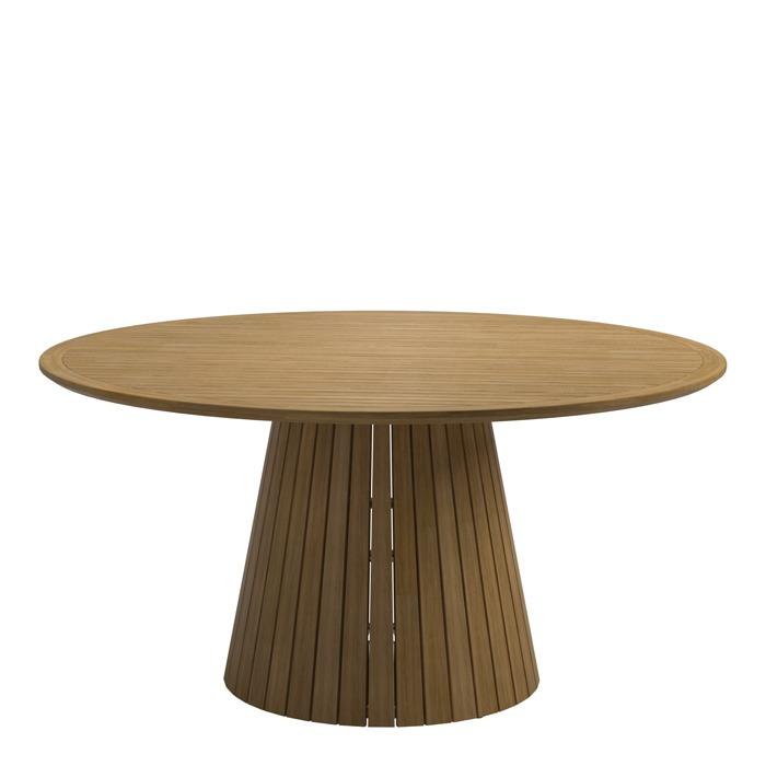 Gloster Whirl Teak 150cm Round Table Buffed Teak