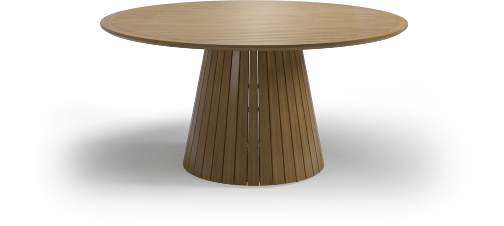 Whirl Teak Round Dining Table Gloster