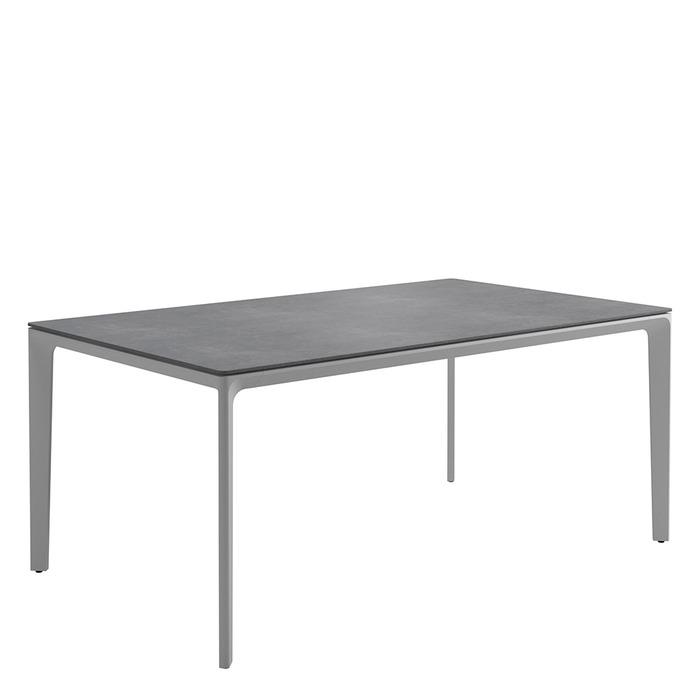 Carver Small Rectangular Table   Pumice Ceramic Top