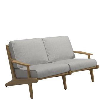 Bay 2-Seater Sofa - Buffed Teak