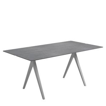 Split Small Rectangular Table   Pumice Ceramic Top