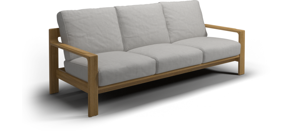 Gloster Loop 3 Seater Sofa