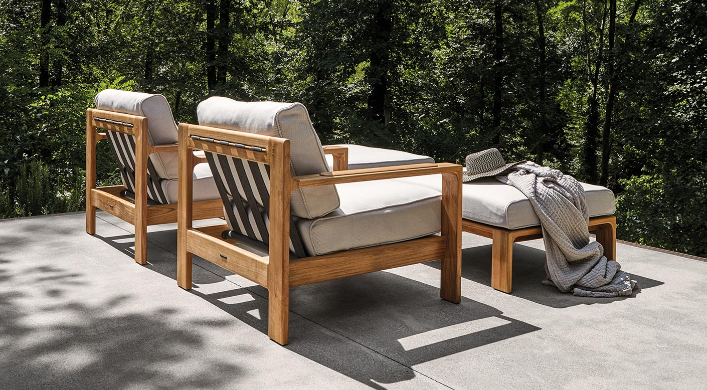 Terrific Loop Collection Modern Luxury Outdoor Furniture Gloster Customarchery Wood Chair Design Ideas Customarcherynet