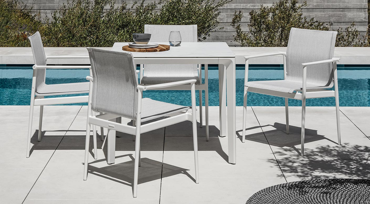 Gloster 180 Collection Modern Luxury Outdoor Furniture