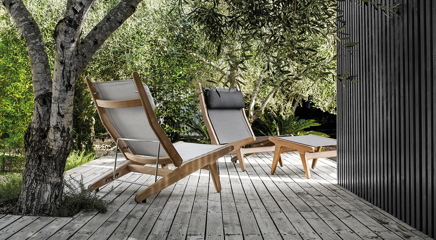 Bay Collection Modern Luxury Outdoor Furniture Gloster