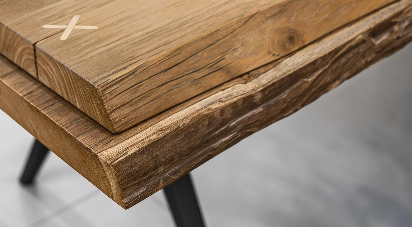 Raw Plank Dining Tables
